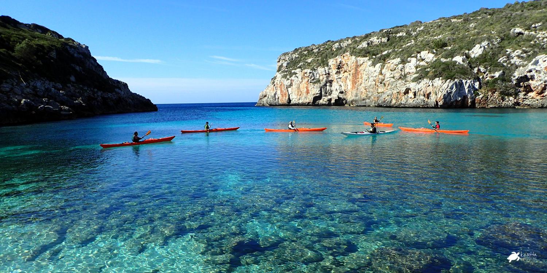Ruta Cales Coves | Kayak en Menorca