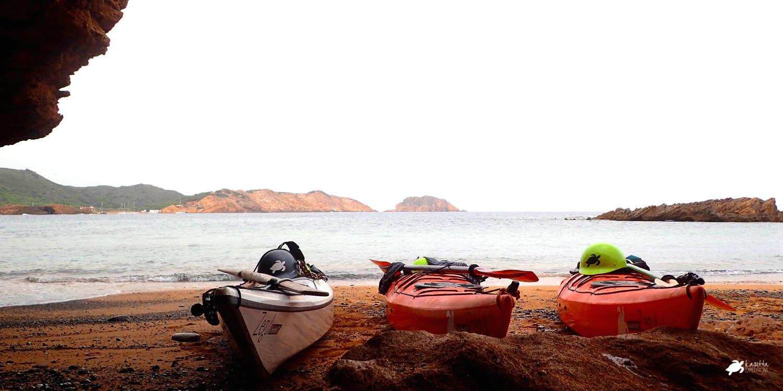 Playa Binimel·là | Kayak en Menorca